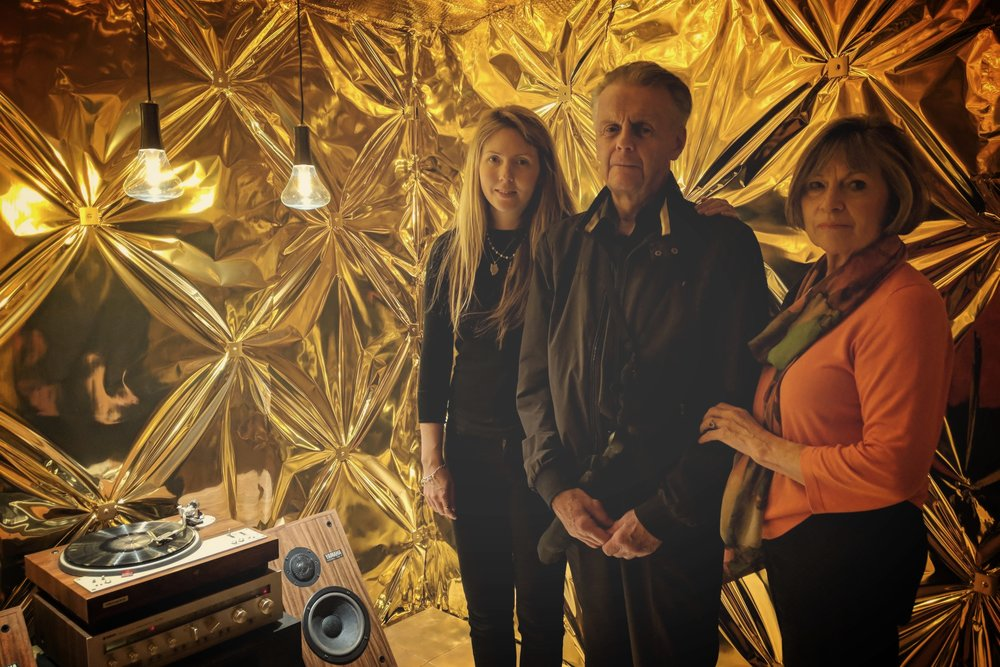 Beatie Wolfe at the V&A giving a dementia and music tour