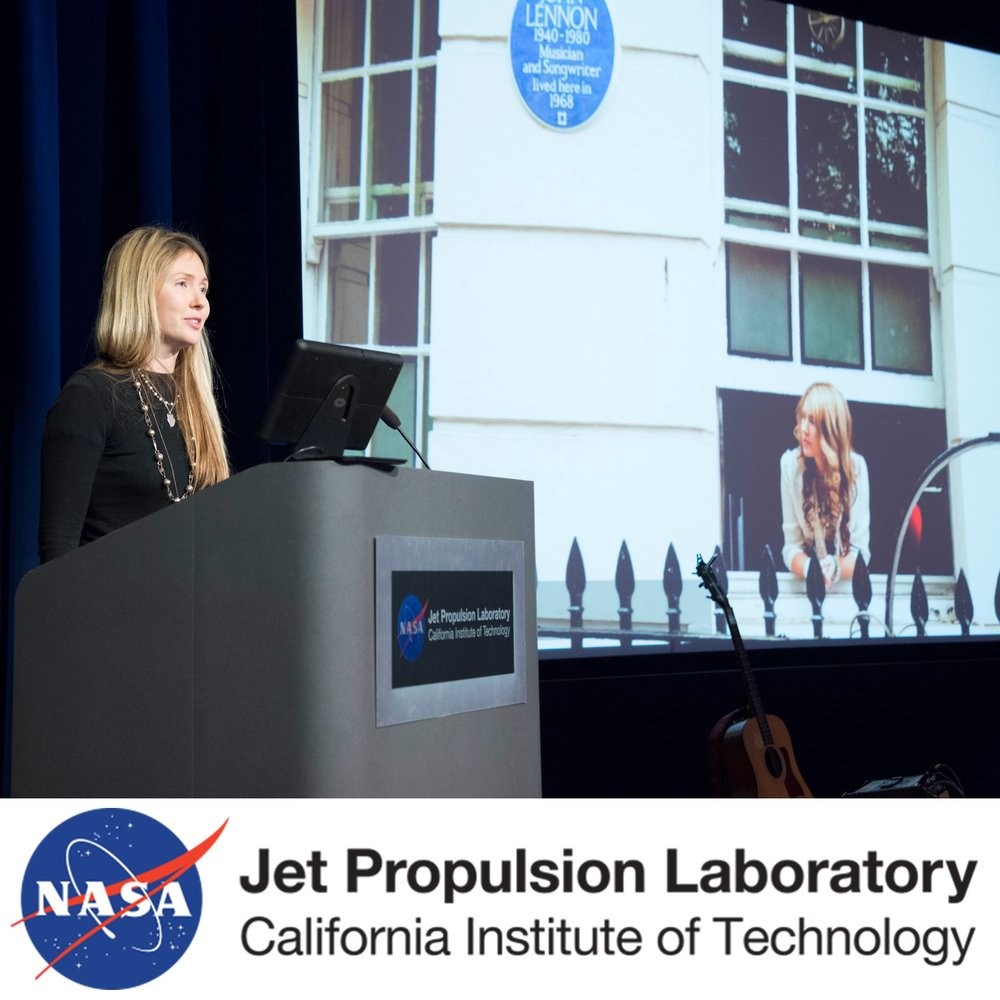 Beatie Wolfe keynote at NASA JPL