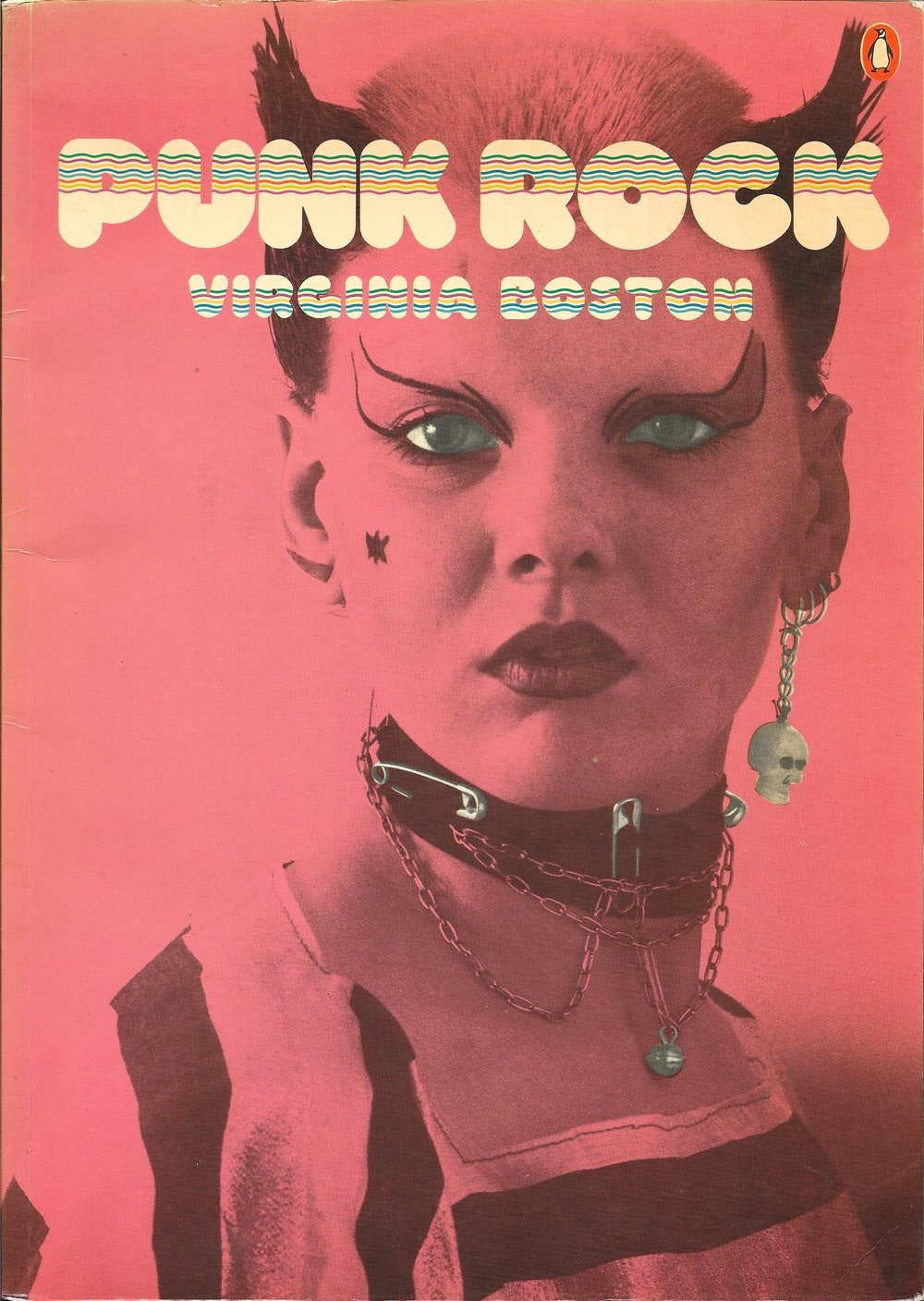 Punk Rock by VIrginia Boston 1978 -  Front Cover US - Version.jpg
