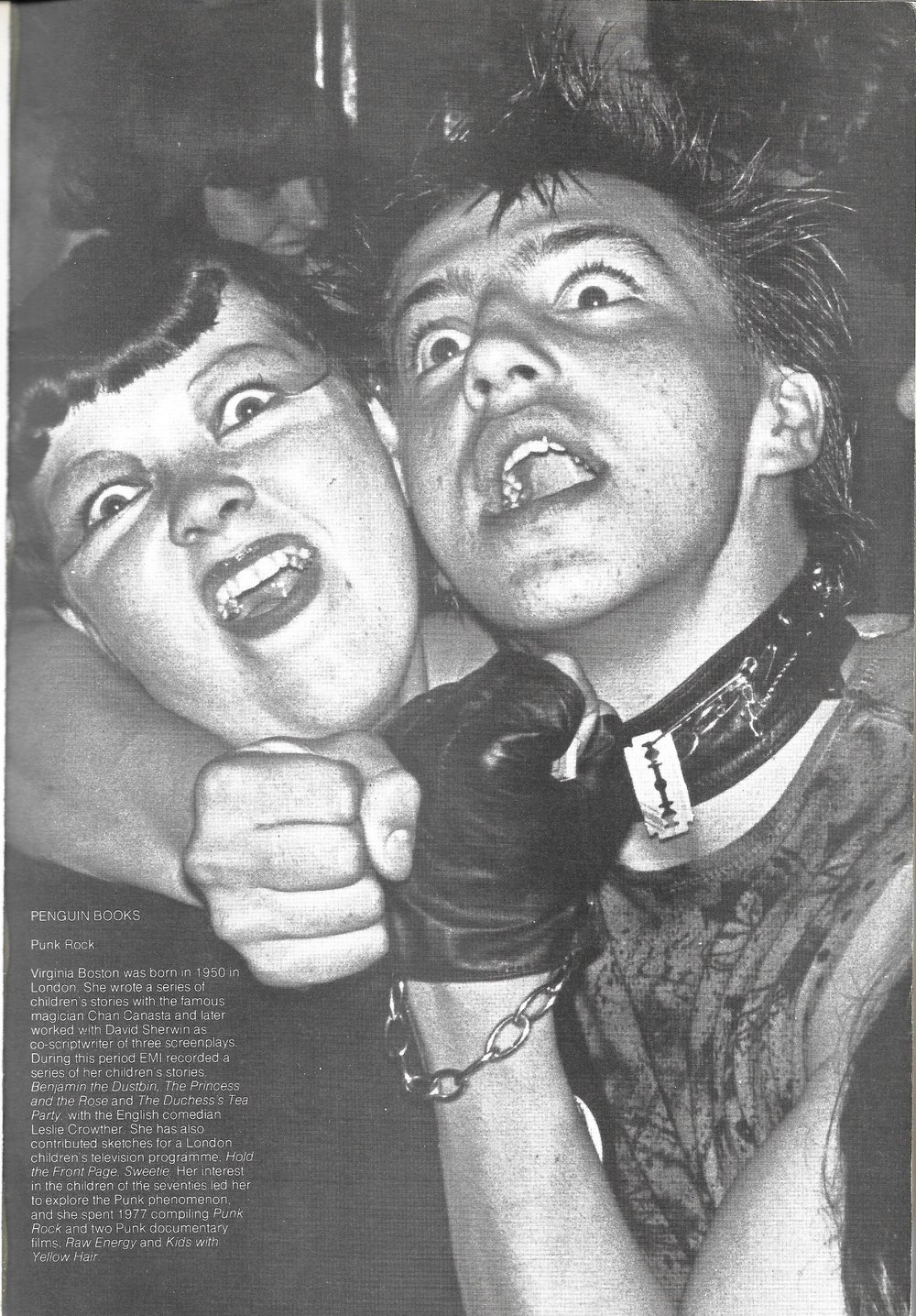 Punk Rock by VIrginia Boston 1978 - Inside Cover left - US Version.jpg