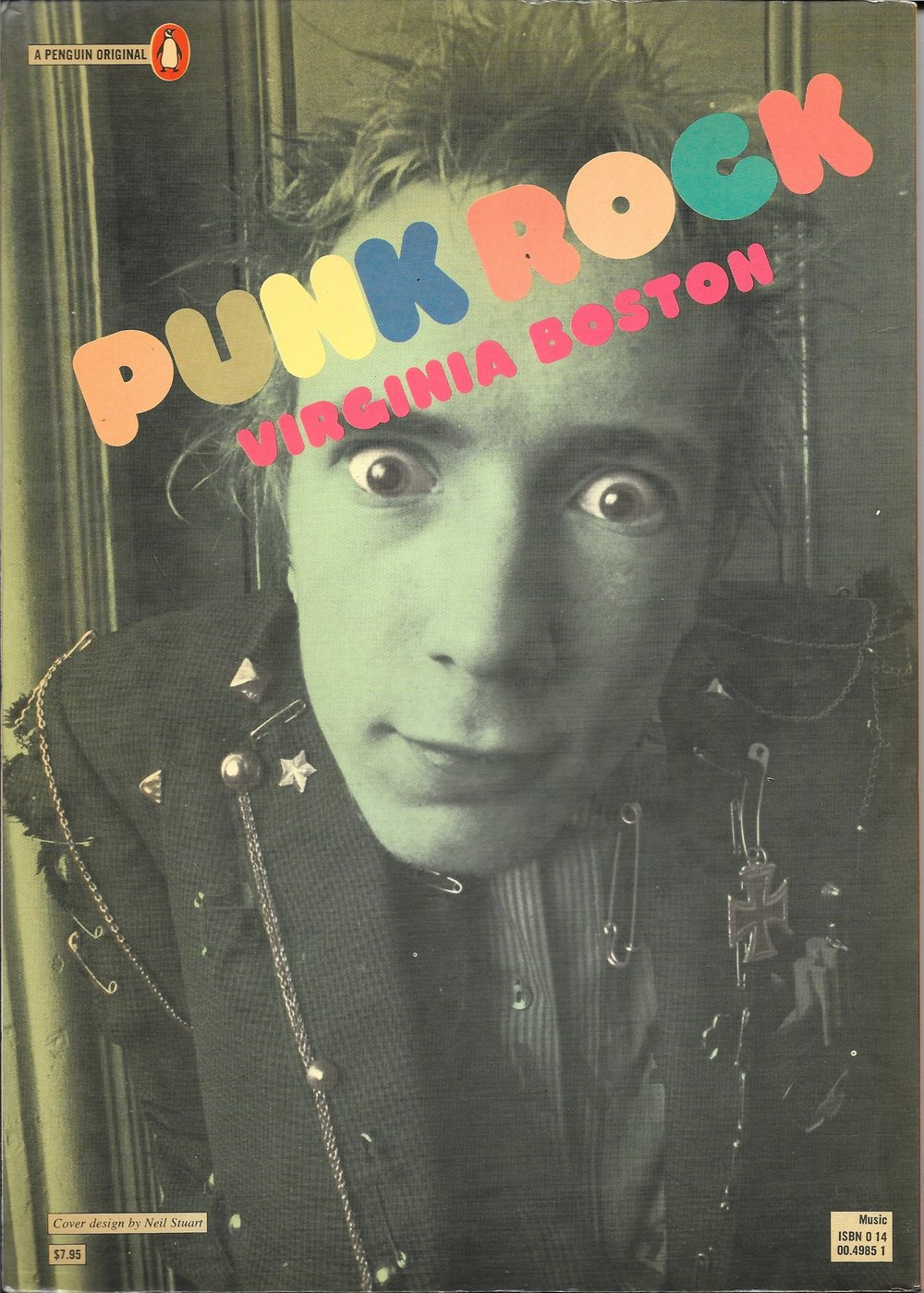 Punk Rock by VIrginia Boston 1978 - Back Cover - US Version.jpg