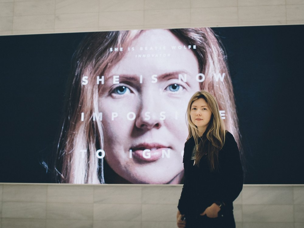NYC World Trade Center ft Beatie Wolfe UN impossible to ignore campaign by Veanne Cao - IMG_2084.JPG