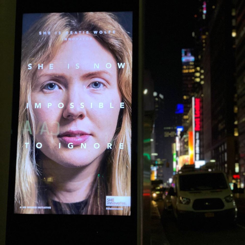 NYC Midtown Link board ft Beatie Wolfe in UN campaign.jpg