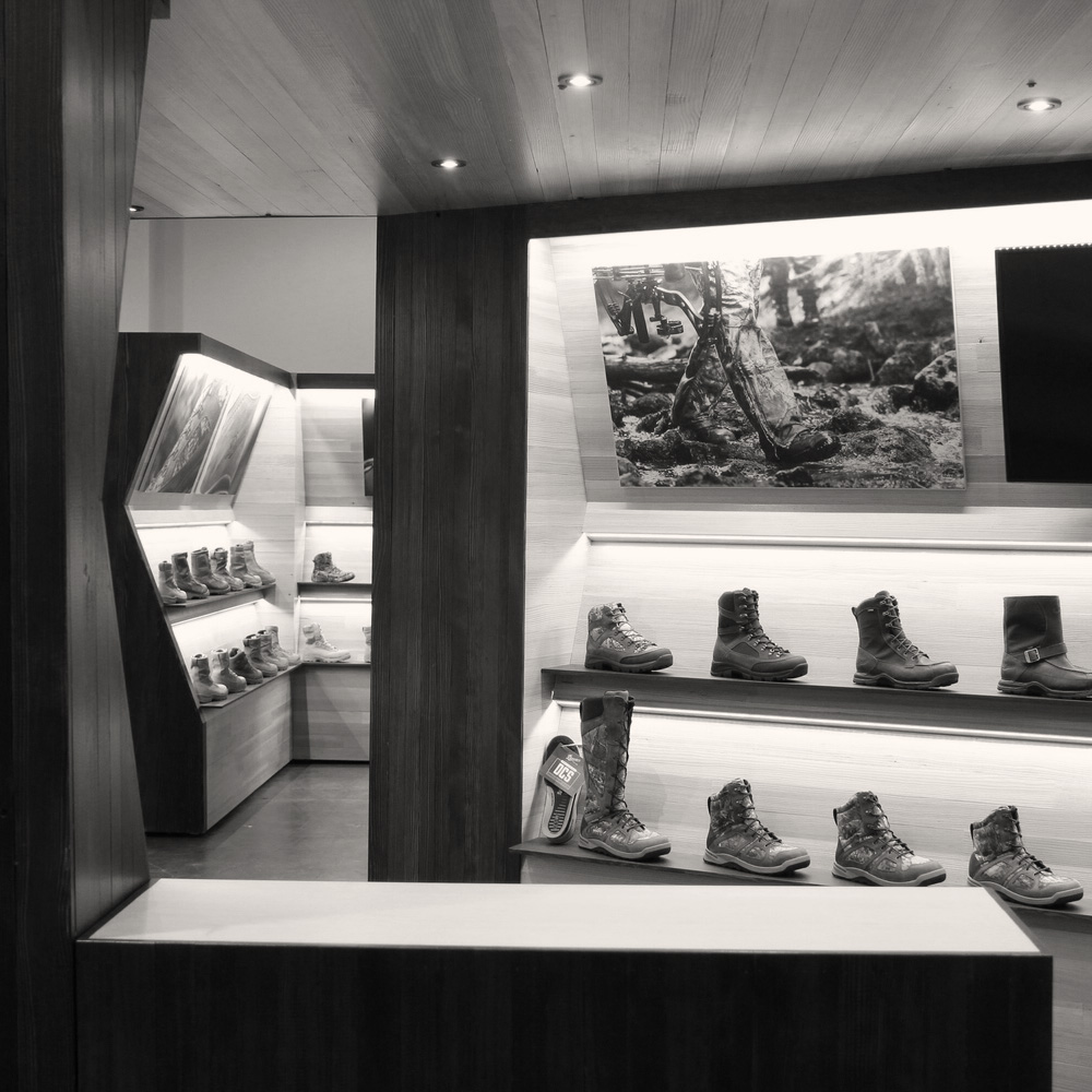 Danner Boots Tradeshow Booth