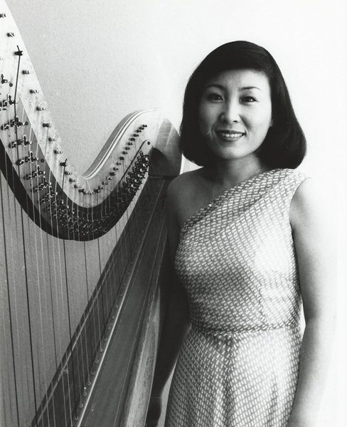 Solo harpist featured with Korean National Symphony Orchestra