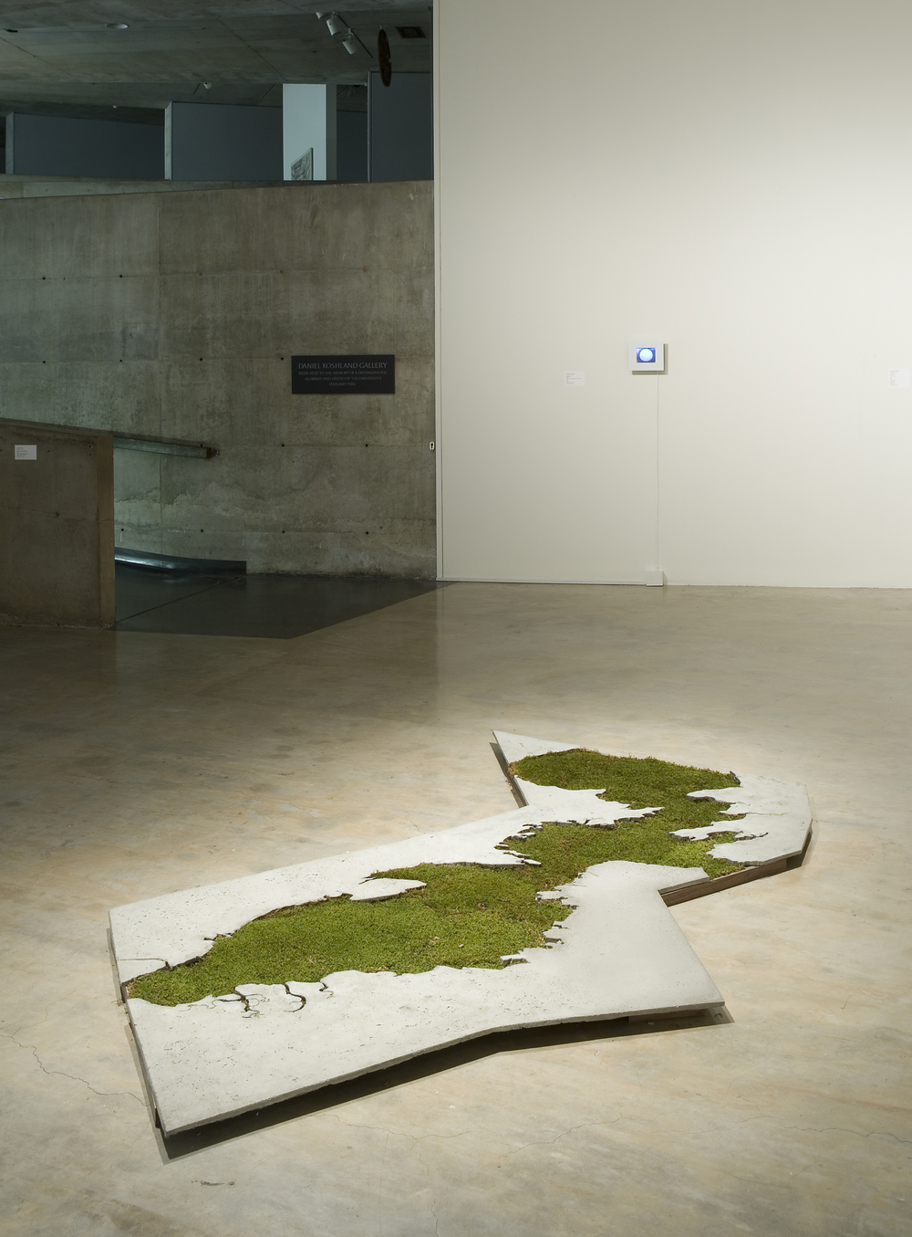 sightlines, Installation view, Berkeley Art Museum, CA, 2010.