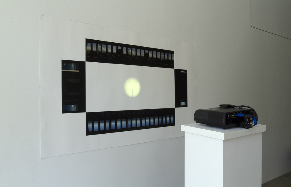 sightlines, Installation view, StoreFrontLab SF, CA, 2014.