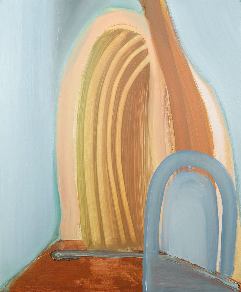tunnels, 2012,oil on panel, 15 x 18