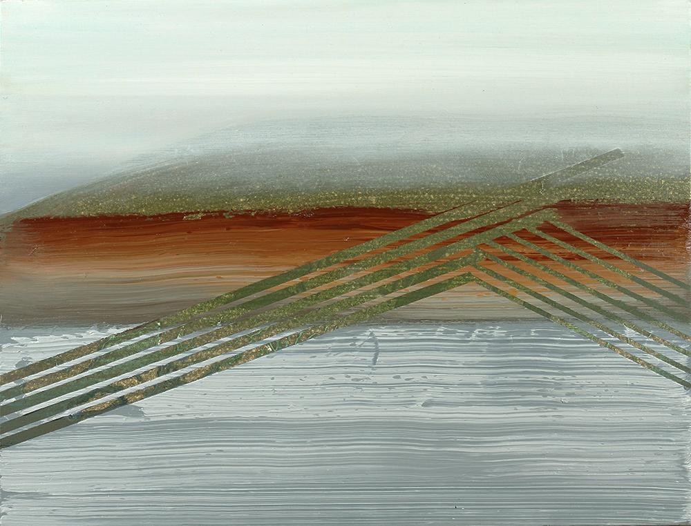 fog, 2012, oil on panel, 16 x 12