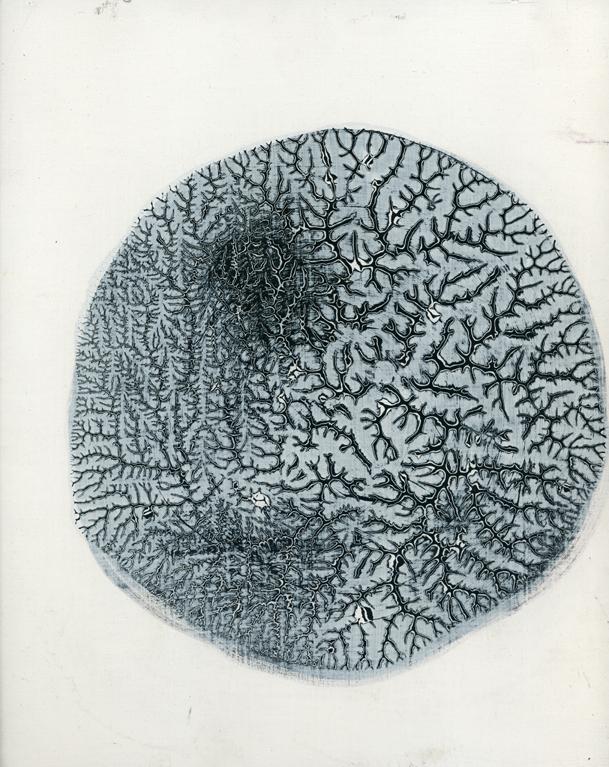 thinking (pensando), 2010, oil on panel, 8 x 11