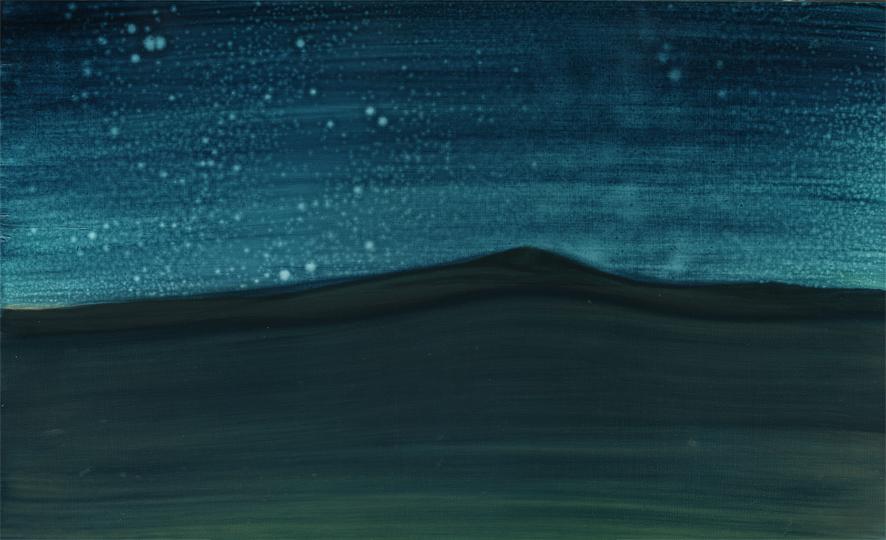 tú que escuchaste mi padecer, 2010, oil on panel, 16 x 10