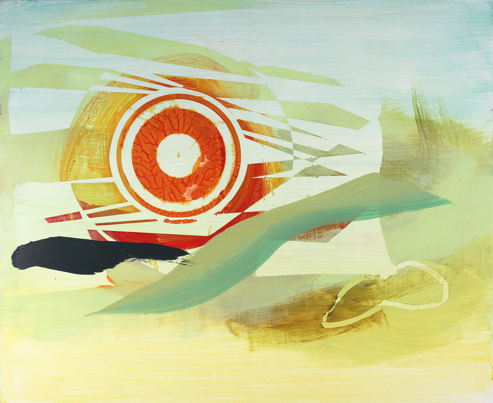 undecided, 2011, acrylic on panel, 26 x 20