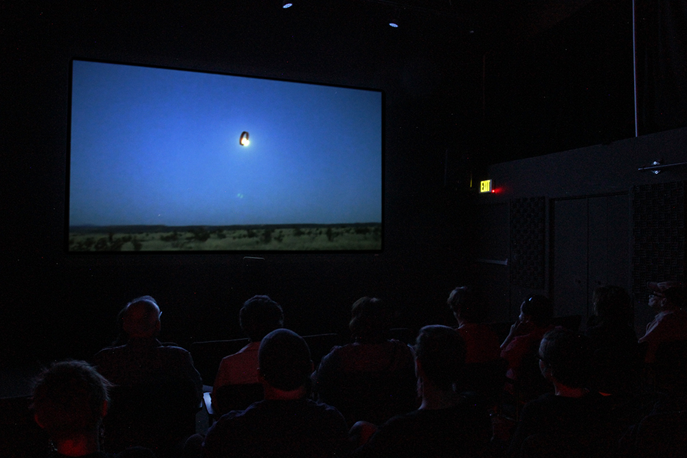 Full Moon Over Galisteo, Screening at Center for Contemporary Art, Santa Fe, New Mexico 2013