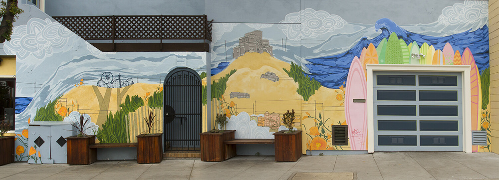 Commissioned Mural by Leah Tumerman