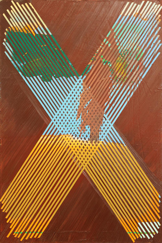 burnt sienna, 2013, oil on canvas, 36 x 24 in
