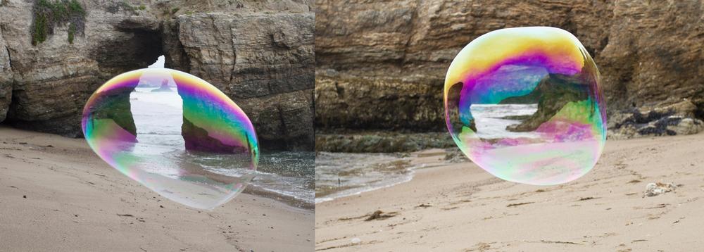 Sculpture Beach, 2015, archival digital inkjet print, 32 x 12 in