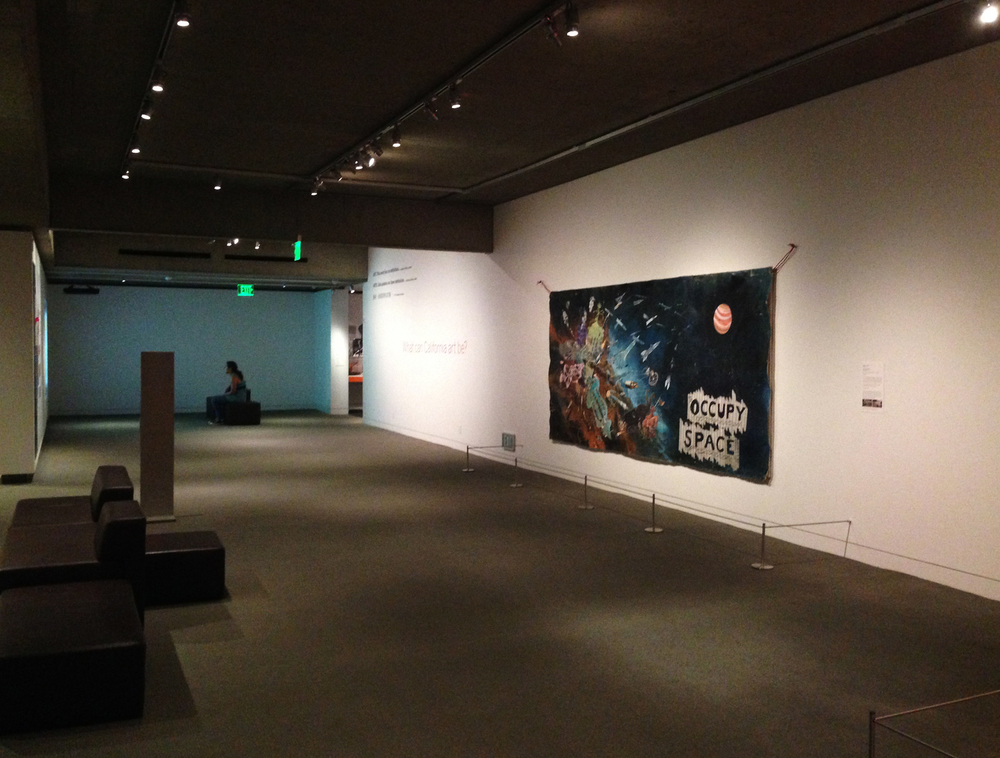 Occupy Space, Installation View. Oakland Museum of California, Gallery of California Art, Permanent Collection.