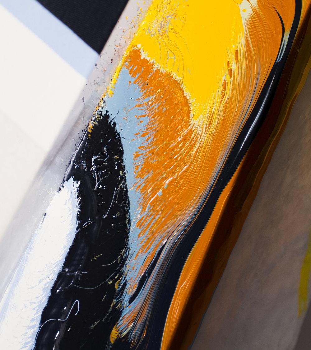 Paint Pour. (Performance documentation)