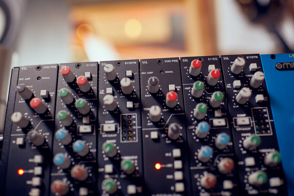 SSL 4K Channels - Straight from an SSL Duality Console