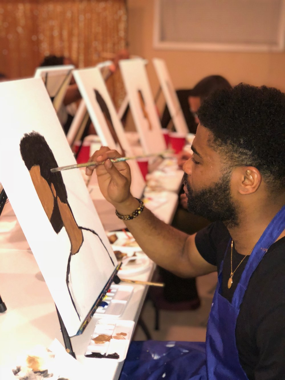 Paint and Sip Hosted by Calisma