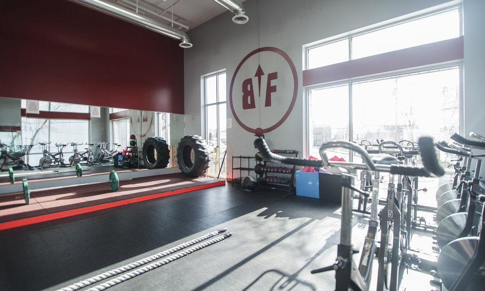 Inside Bay View Fitness