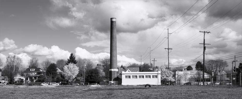 Washington High School Boiler Building and Smokestack
