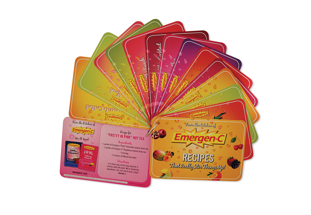 Emergen-C Recipe Cards