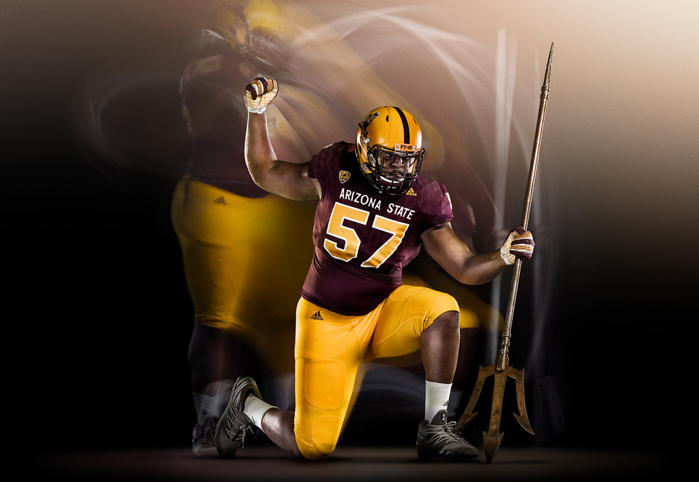 FY17 ASU SUN DEVIL  FOOTBALL Photoshoot  IGNITE THE POWER WITHIN   Creative + Art Direction  with  photographer   Blair Bunting    cr8@ sun devil athletics, arizona state university