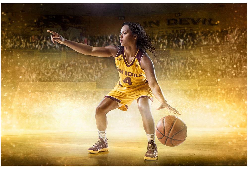 FY18 ASU  SUN DEVIL    WOMEN'S BASKETBALL   Photoshoot  Creative + Art Direction  with  photographer   Blair Bunting    cr8@ sun devil athletics, arizona state university