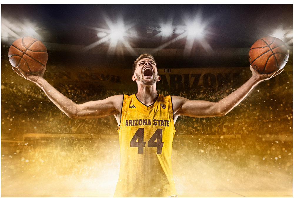 FY18 ASU  SUN DEVIL    MEN'S BASKETBALL   Photoshoot  Creative + Art Direction  with  photographer   Blair Bunting    cr8@ sun devil athletics, arizona state university