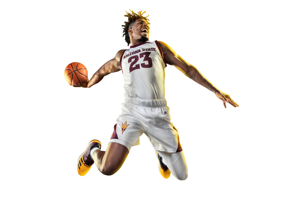 BREAKTHROUGH   FY19 ASU SUN DEVIL  BASKETBALL Photoshoot  Creative Art direction + brand management for all photo shoots for Sun Devil Athletics. Working directly with the photographer + Associate Athletic Director of Marketing to create photos highlighting the athlete during moments of peak performance,  celebration + moments of BREAKTHROUGH to achieve above + beyond what is expected.  Creative + Art Direction  with  photographer   Blair Bunting    cr8@ sun devil athletics, arizona state university