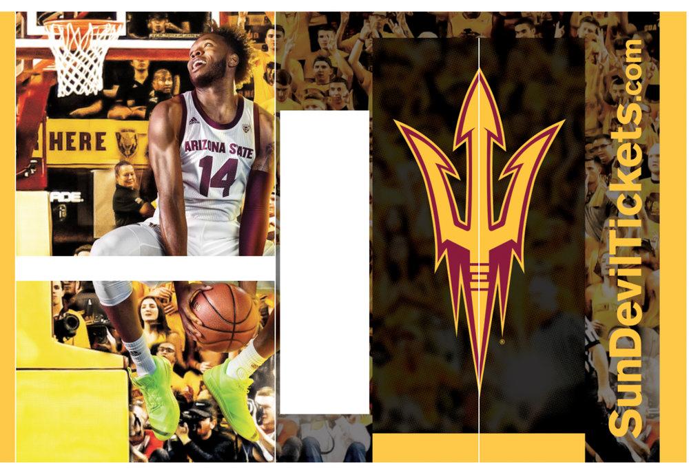 FY19 ASU Basketball Elevator Wrap