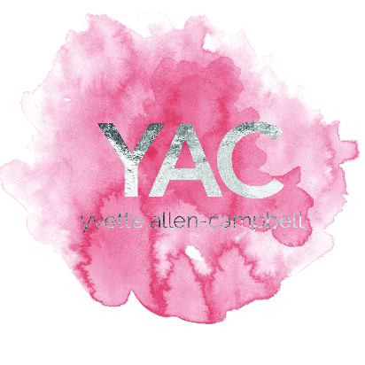 Yvette Allen-Campbell - website x business card x logo
