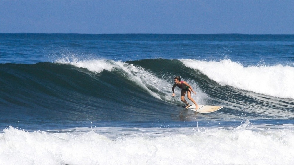 When we lived in Costa Rica and worked for Surf Simply