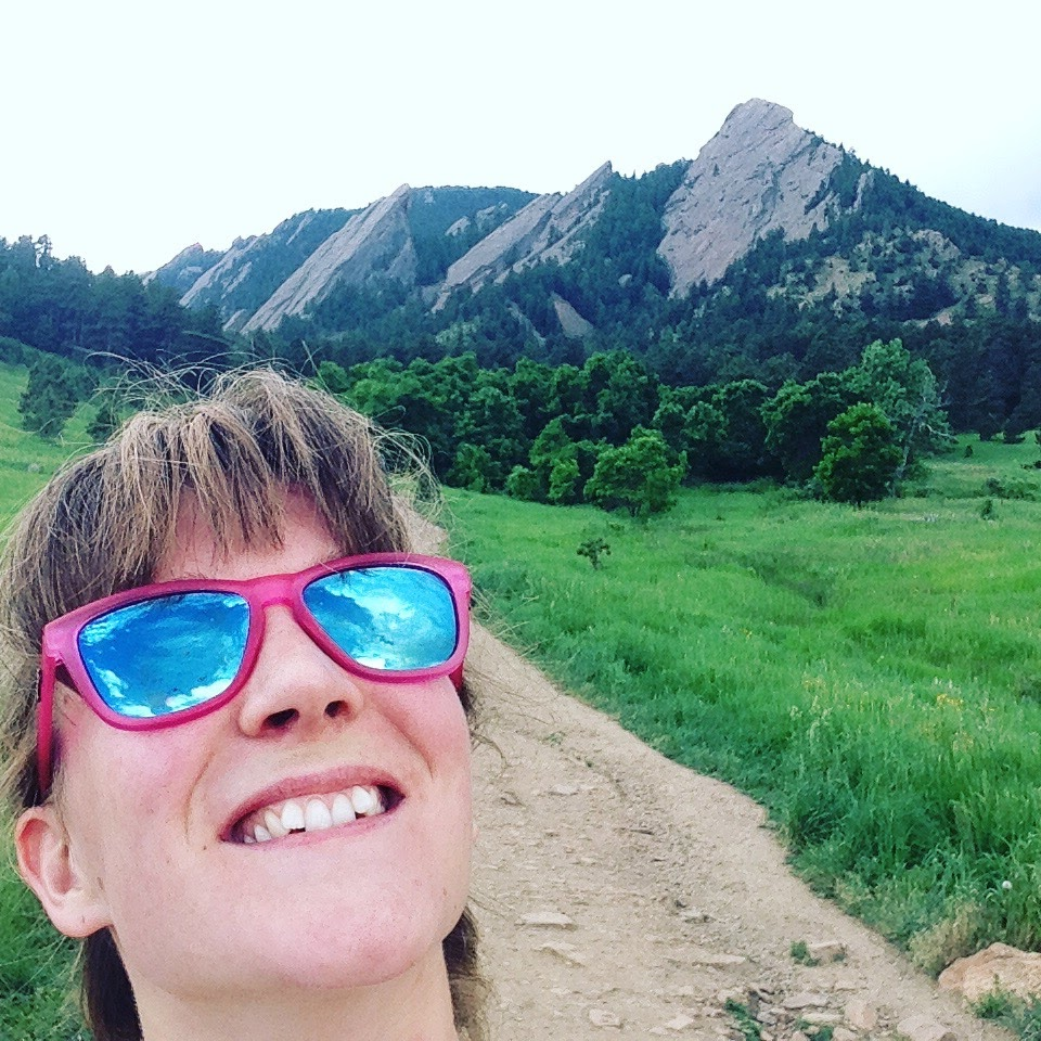 The Flat Irons of Boulder, CO