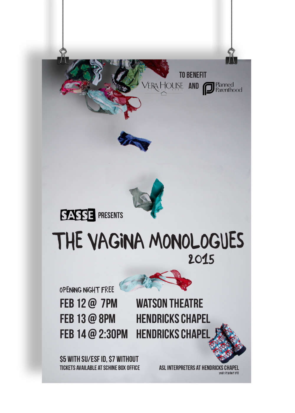 Interesting question vagina monologues committee with