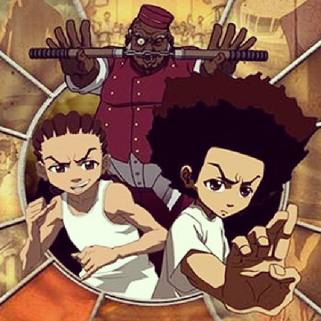 I had to for this! Tonight it's going down!!! The return of the Freemans begins!!! #Boondocks4 #LetTheMadnessEnsue #ImGeeked #FuckYeah