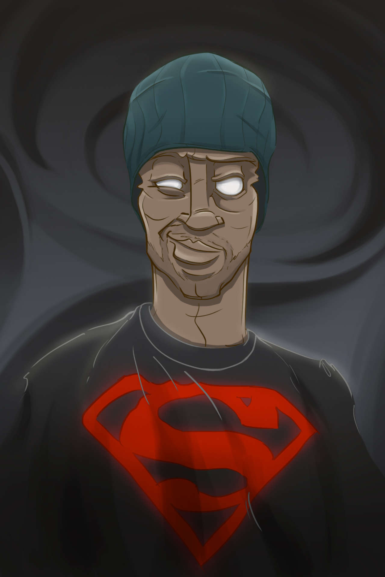 """My homie Ossian """"Big O"""" Mendoza did this awesome digital portrait of me! Call me SuperT0ne! Check out more of his work on his site right here: Ossian Mendoza"""