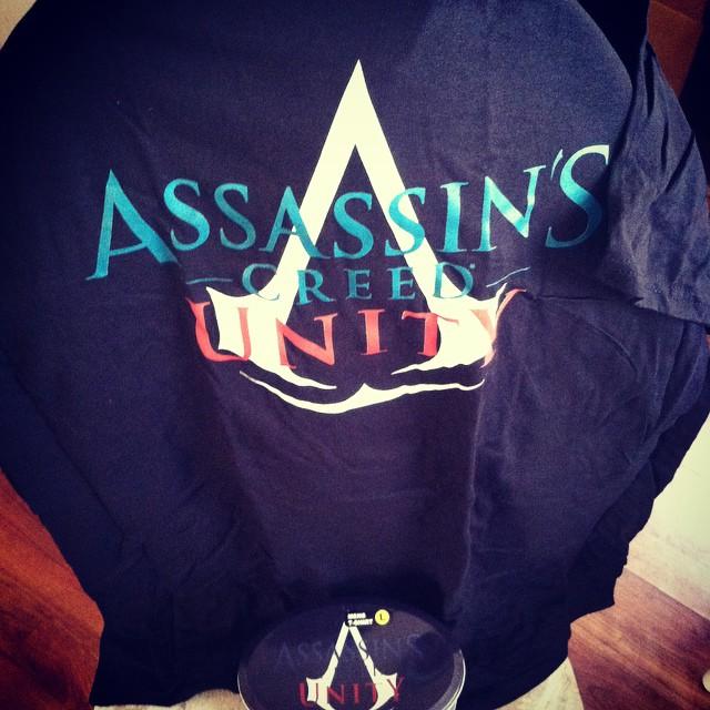 Opened and damn near cried… #FollowYourCREED #AssassinsCreed