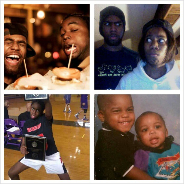 Since I'm late to the #NationalSiblingsDay… I'm so proud of all that my younger brother @acefromrosmg and sister are accomplishing. I love you both to life… #family