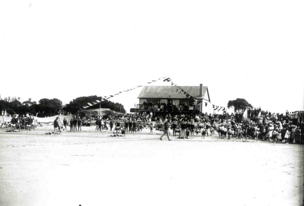1946-47 Carnival at Old Clubhouse