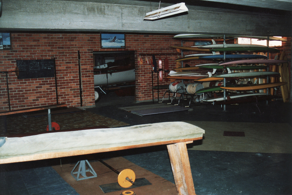 1991-92 Boards Old Storage Area and Access into Boat Shed