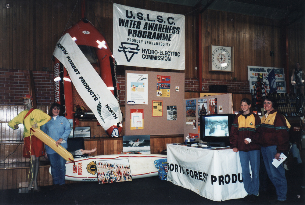 1994-95 Surf Club Display at Ulverstone Show