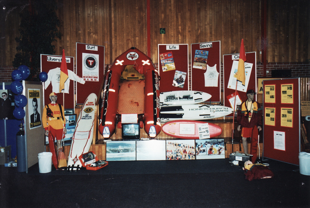 1995-96 Surf Club Display at Ulverstone Show