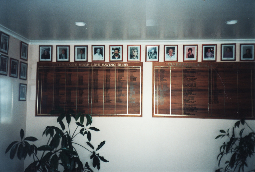 1996-97 Honour Boards in Foyer with Photos Surrounding