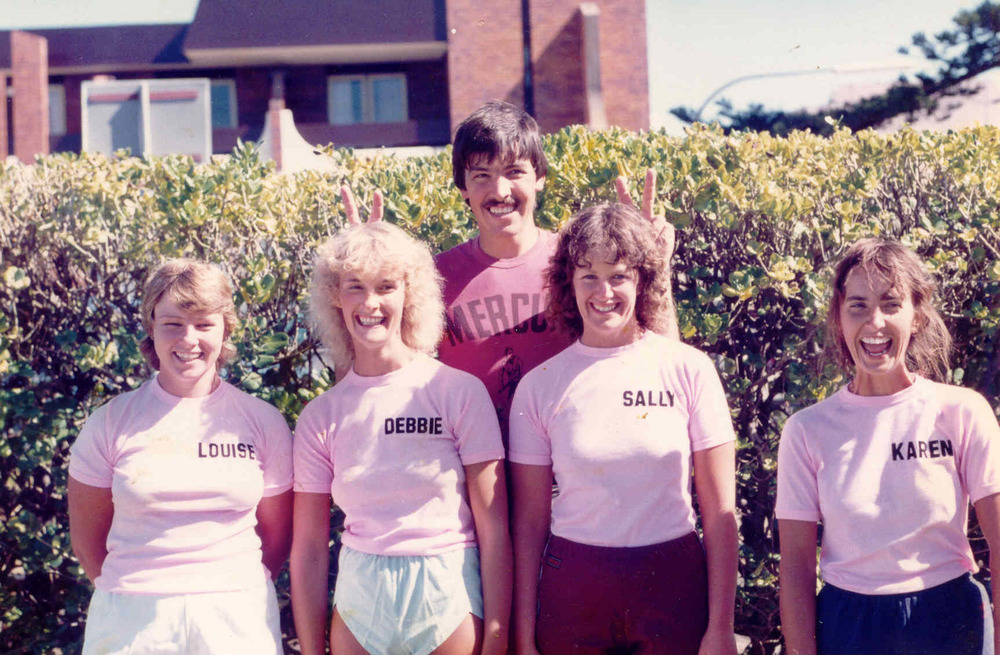 1983-84 Boatie Beauties Louise Smith Debbie Butcher Sally & Karen Charleston