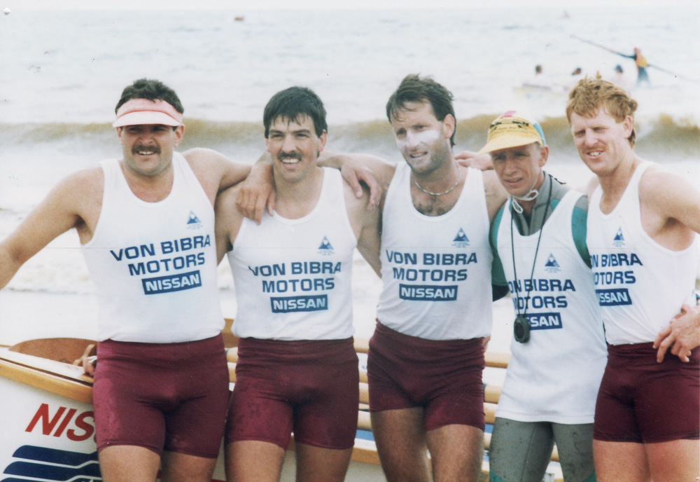 1990-91 BCCRW crew North West marathon