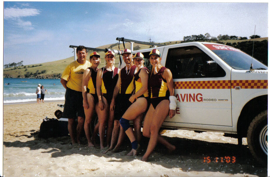 2002-03 Clifton Women's crew BCDRS T Butler, J Crawford, A Dodd, L Redman, F Smith