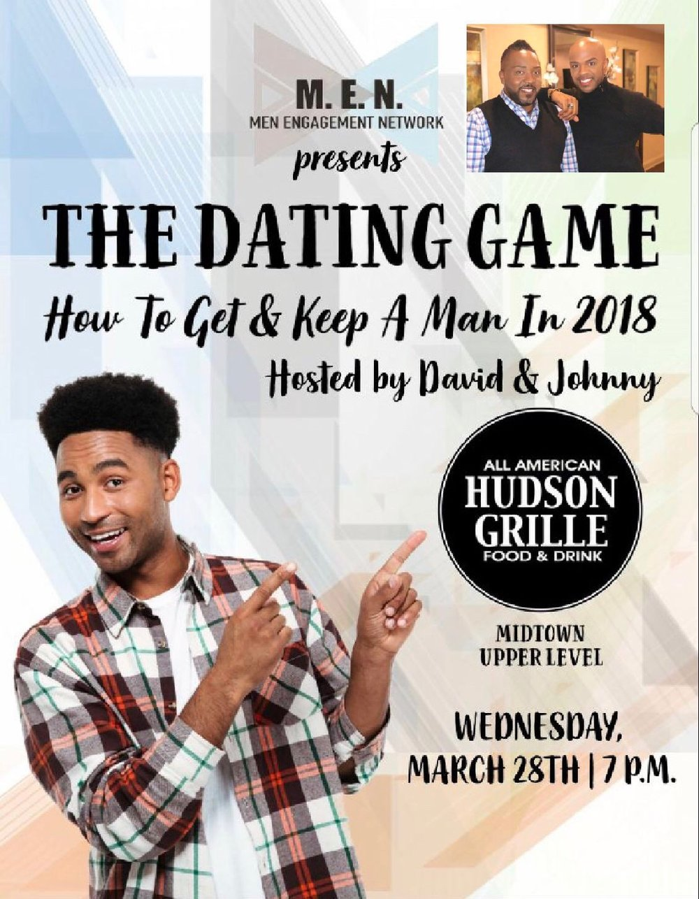 The dating game hostess
