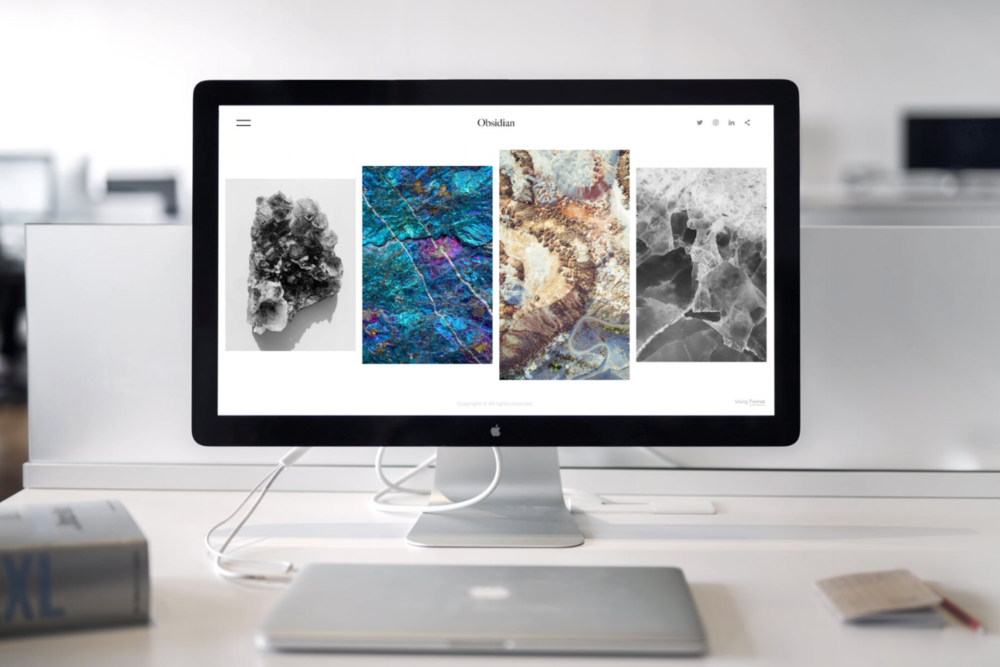 Portfolio & Cover Page Websites - Ideal for events or creatives, artists and individuals looking to have a minimal yet professional representation online.